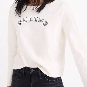 Madewell Queens Long Sleeve Graphic Tee